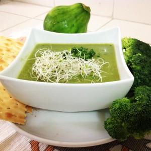 Crema de Ayotes y Brócoli